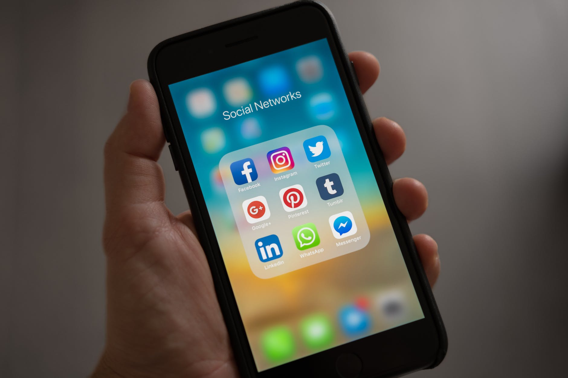 Common social media platforms